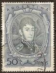 Sellos del Mundo : America : Argentina : José Francisco de San Martín (1778-1850).