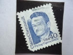 Stamps United States -  Claire Chennault- teniente General