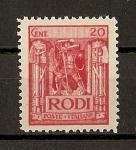 Stamps Italy -  Egeo./ Colonia Italiana.
