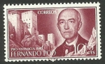 Stamps Spain -  Manuel de Falla
