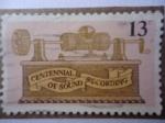 Sellos de America - Estados Unidos -  Centennial of Sound recording - Centenario de la grabación de Sonido.