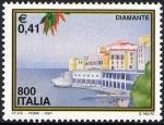 Sellos de Europa - Italia -  2396 - Diamante