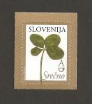 Stamps Slovenia -  Trébol de 4 hojas