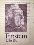 Sellos del Mundo : America : Estados_Unidos : Einstein