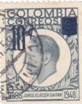 Stamps : America : Colombia :  564 - Jorge Eliecer Gaitan, hombre político
