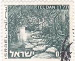 Sellos de Asia - Israel -  Paisaje de Tel Dan