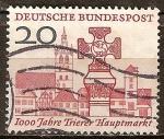 Sellos de Europa - Alemania -  1000 años del mercado principal de Trier.