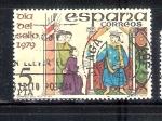 Sellos del Mundo : Europa : España : Día del Sello: Correo del Rey Siglo XIII