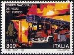 Sellos de Europa - Italia -  2291 - Bomberos