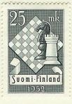 Stamps Finland -  Tablero y piezas