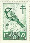 Stamps Finland -  A beneficio de la lucha antituberculosos - Parus major