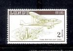 Stamps Europe - Lundy -  Avión sobre el viejo faro