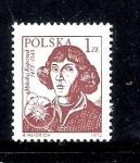 Sellos de Europa - Polonia -  500 aniversario del nacimiento de Nicolás Copérnico