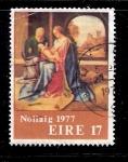 Sellos de Europa - Irlanda -  Navidad 1977