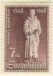 Stamps Finland -  IV centenario de la traducción de la Biblia