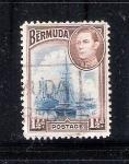 Sellos de America - Bermudas -  Barcos