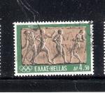 Sellos de Europa - Grecia -  Relieve: atletas
