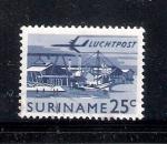 Sellos de America - Surinam -  Industria maderera