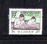 Sellos de Asia - Irán -  Alfabetización