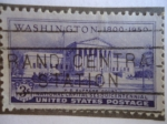 Stamps United States -  Supreme Court-National Capital Sesquicentennial - Washington 1800-1950.