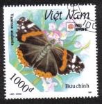 Sellos del Mundo : Asia : Vietnam : Vanessa Atalanta