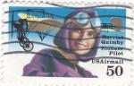 Stamps United States -  Harriet Quimby pionera de la aviación