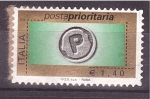 Stamps of the world : Italy :  correo prioritario