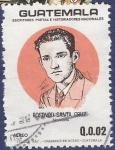 Stamps Guatemala -  GUATEMALA Rosendo Santa Cruz 0,02