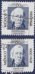 Stamps Mexico -  MEX Quintana Roo / Tamaulipas 6.50 (doble)