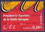 Sellos de Europa - España -  Edifil 4547 Presidencia de la UE 2010 0,34 [L]