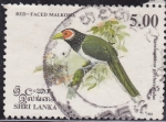 Stamps : Asia : Sri_Lanka :  Red-Faced