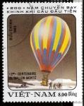 Sellos de Asia - Vietnam -  200 ANIVERSARIO 1º VUELO EN GLOBO