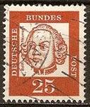 Sellos de Europa - Alemania -  Baltasar Neumann (1687-1753), arquitecto.