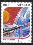 Sellos de Asia - Vietnam -  Space
