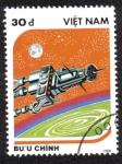 Sellos del Mundo : Asia : Vietnam : Space