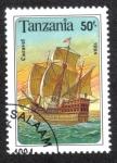 Stamps Tanzania -  Barco