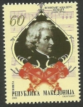 Stamps Europe - Macedonia -  Mozart