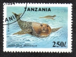 Sellos de Africa - Tanzania -  Monachus Tropicalis