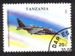 Sellos del Mundo : Africa : Tanzania : Avión