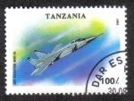 Sellos de Africa - Tanzania -  Avión