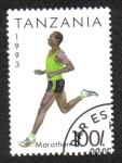 Sellos del Mundo : Africa : Tanzania : Marathon