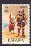 Stamps Spain -  Arcabucero 1632
