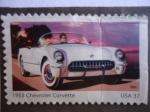 Stamps United States -  1953 Chevrolet Corvette.