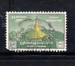 Stamps Myanmar -  2500 años de la Era Budista