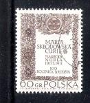 Sellos del Mundo : Europa : Polonia :  Centenario del nacimiento de María Sklodowska Curie