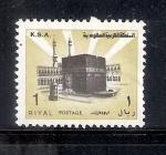 Sellos de Asia - Arabia Saudita -  La Kaaba