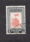 Stamps of the world : Jordan :  Templo de Artemis, Jerash