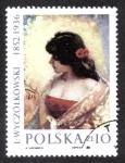 Stamps Poland -  L.Wyczlkowski 1852-1936