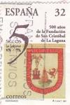 Sellos de Europa - España -  500 AÑOS DE LA FUNDACIÓN DE SAN CRISTOBAL DE LA LAGUNA(11)