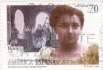 Sellos de Europa - España -  UPAEP- MUJERES DESTACADAS-MARÍA GUERRERO (11)